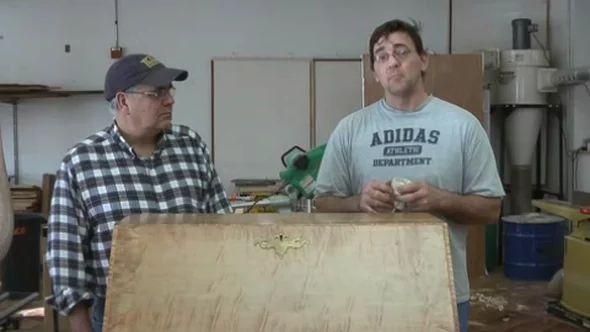 Episode 05: Maple Desk Finish