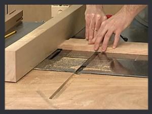 Mortise and Tenon – Cutting the Tenon