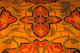 Another view of Adrienne van Dooren's restored hardwood floor. Photo credit: David Galen